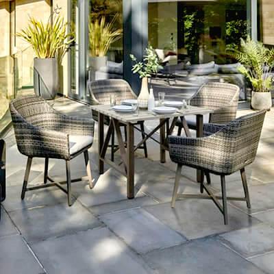 22d4a6ba395b LaMode Range. Contemporary Weave Garden Furniture