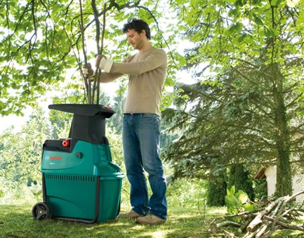 Bosch Garden Shredders plus Woodsman Alko and Flymo Shredders