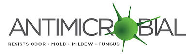Antimicrobial liner to resist odour, mould and mildew