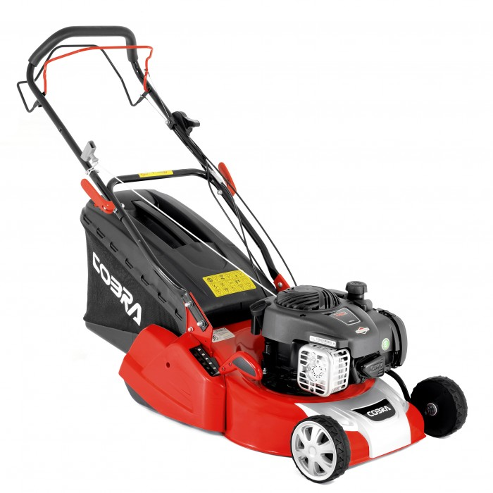 Image of Cobra 40cm Petrol Self Propelled Mower with B & S Engine and Rear Roller
