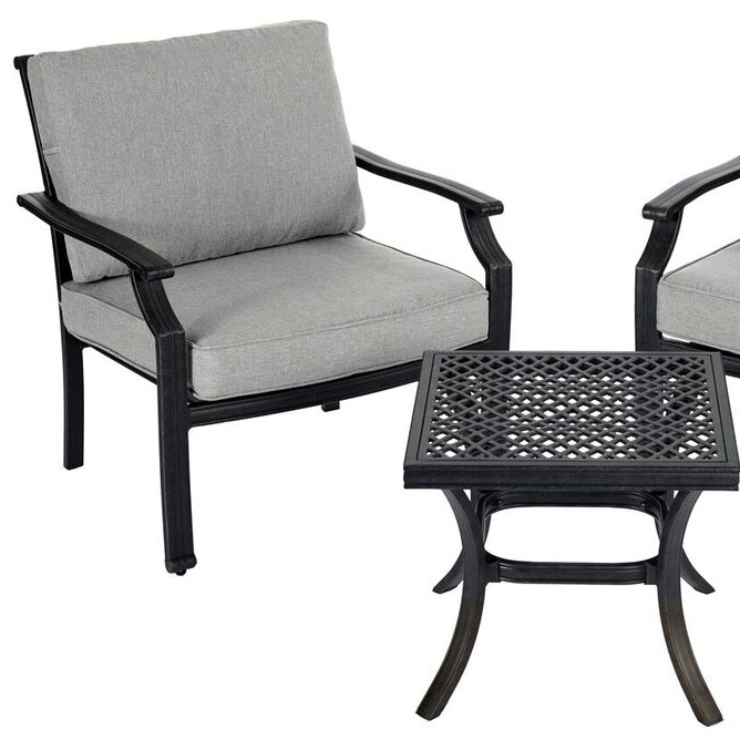Small Image of Jamie Oliver 2 Seater Coffee Set - Classic Riven / Pewter