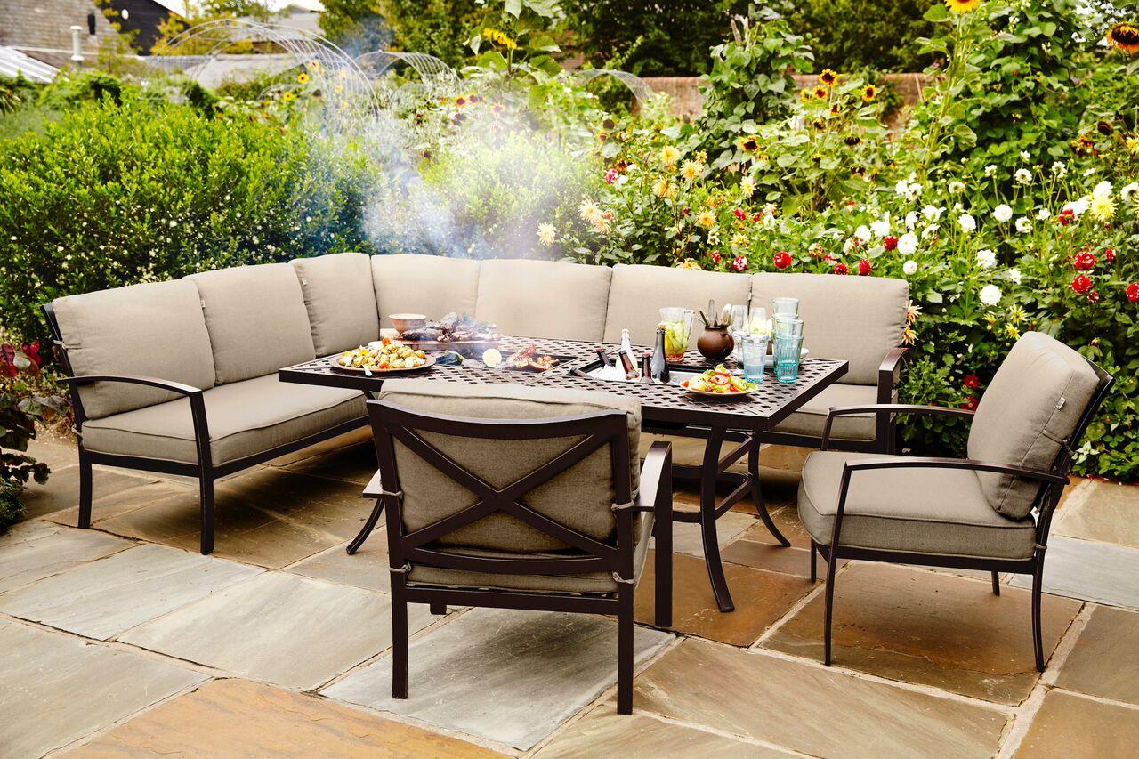 2018 jamie oliver cosy corner furniture set bronze biscuit 1799 garden4less uk shop. Black Bedroom Furniture Sets. Home Design Ideas