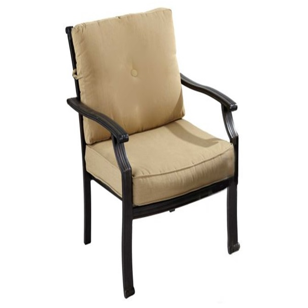Image of Jamie Oliver Classic Dining Chair - Bronze/Biscuit