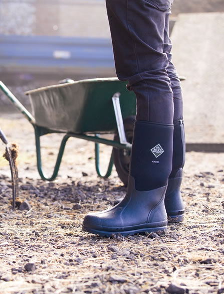 Muck Boot - Chore Hi - Black - £75.99 | Garden4Less UK Shop