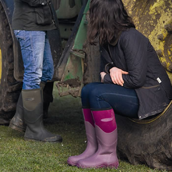 Muck Boot - Greta Tall - Fuchsia -UK 4 / EURO 37 - £74.99 ...