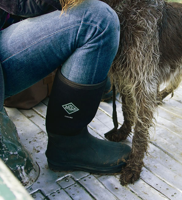 Muck Boot - Chore Hi - Black - £69.95 | Garden4Less UK Shop