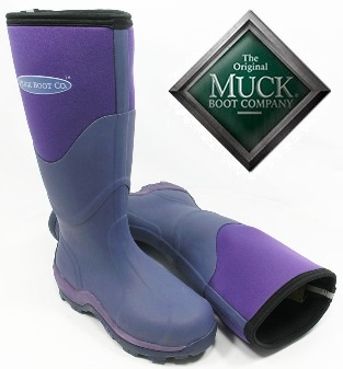 Muck Boot - Greta Tall - Violet - £74.99 | Garden4Less UK Shop