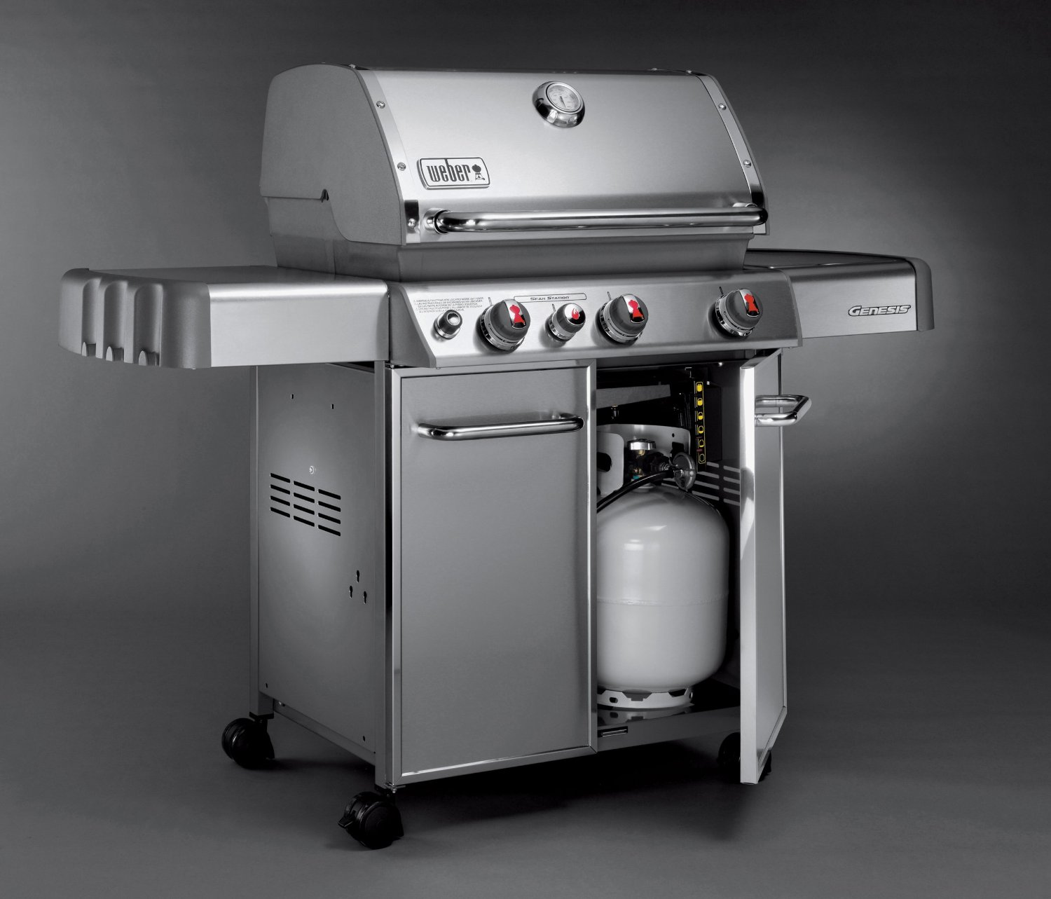weber genesis s330 bbq in stainless steel. Black Bedroom Furniture Sets. Home Design Ideas