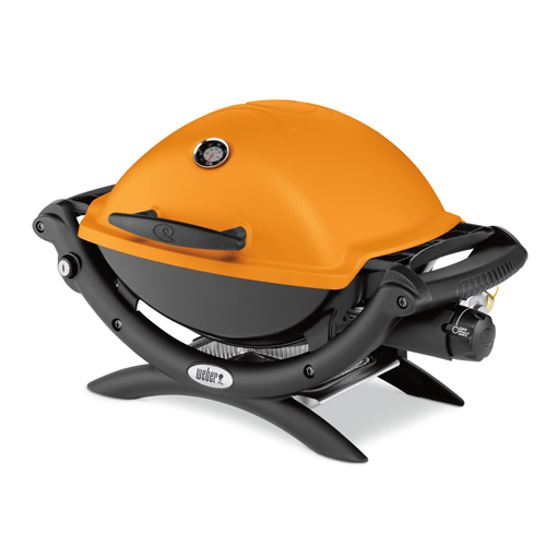 Small Image of Weber Baby Q1200 Orange