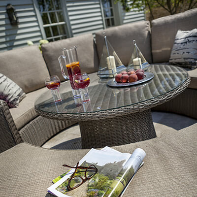 Weave Garden Furniture Sets from Top Brands Such as Hartman LIFE
