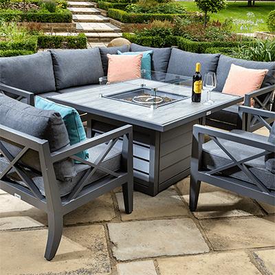 Cast Aluminium Garden Furniture, Cast Aluminium Garden Tables Uk