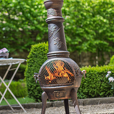 Image for Cast Iron Chiminea