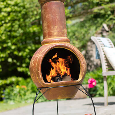 Image for Clay Chiminea