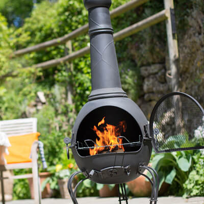 Image for Steel Chiminea