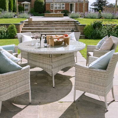 Image for Cotswold Garden Furniture. Weave Garden Furniture Sets from Top Brands Such as Hartman  LIFE
