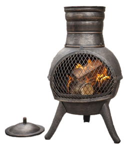 Image of chimineas and fire pits