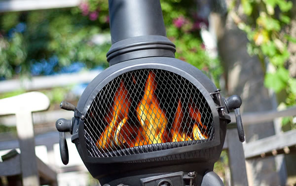 Image of chimineas & outdoor heat