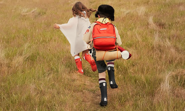 Image of kids hunter wellies