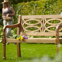 Winawood Wood Effect Garden Benches