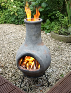 Chiminea garden garden ftempo for Gardening 4 less reviews