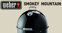 Weber Smokey Mountain Cooker Smokey