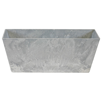 Image of Artstone Balcony Trough Ella Grey Large