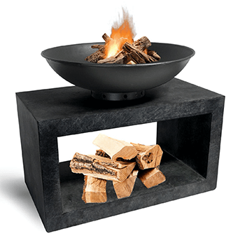 Image of Firebowl & Rectangle Console Granite