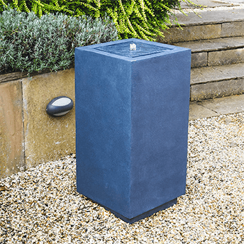 Image of Outdoor Elite Square Water Feature Granite
