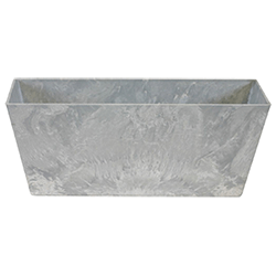 Small Image of Artstone Balcony Trough Ella Grey Large