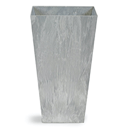Small Image of Artstone Vase Ella Grey Medium