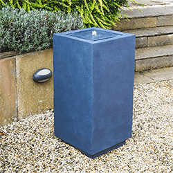 Small Image of Outdoor Elite Square Water Feature Granite