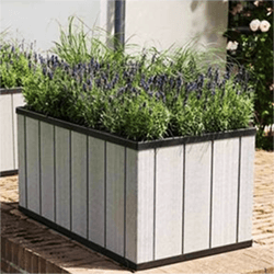 Small Image of Keter Sequoia Raised Self Watering Planter - Medium
