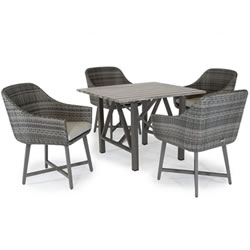 Extra image of Kettler LaMode 4 Seater Dining Set