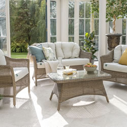 Extra image of Kettler RHS Harlow Carr Sofa Lounge Set in Natural