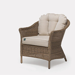 Extra image of Kettler RHS Harlow Carr 3 Seater Lounge Set in Natural