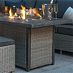 Extra image of Kettler Palma Fire Pit Table Protective Cover