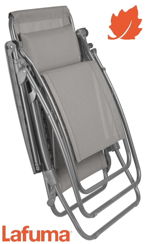 Extra image of Lafuma R Clip Recliner in Batyline Seigle - LFM4020