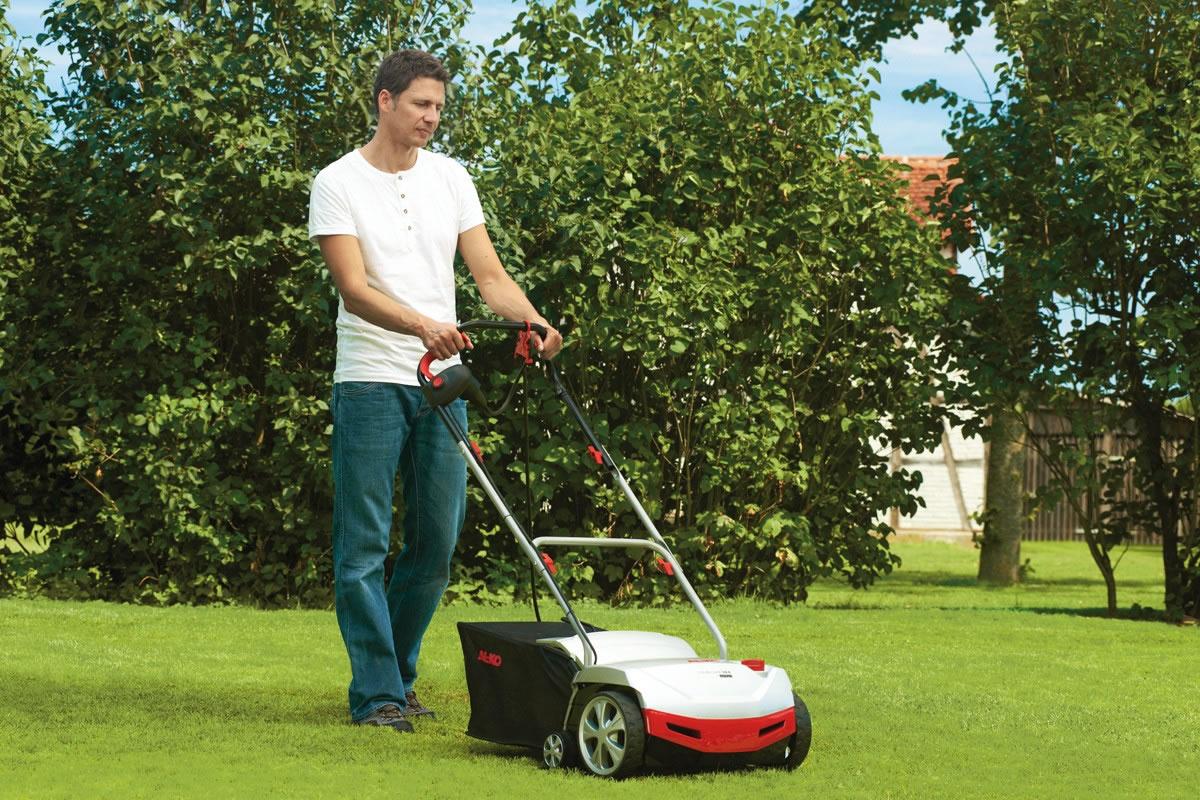 Al Ko Electric Combi Care Comfort Lawn Scarifier 38e 163