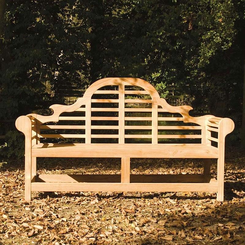 Teak Lutyens 6ft FSC Garden Bench from Alexander Rose - £ ...