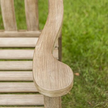 Extra image of Sherwood Turnberry 5ft FSC Garden Bench from Alexander Rose