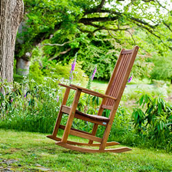 Small Image of Alexander Rose FSC Cornis Rocking Chair