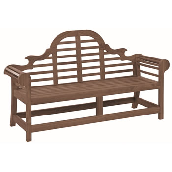 Image of Sherwood Lutyens 6ft FSC Garden Bench from Alexander Rose