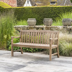 Small Image of Sherwood Cuckfield 5ft FSC Garden Bench from Alexander Rose