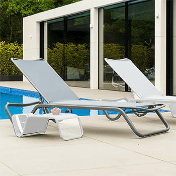 Image of Alexander Rose Fresco sun lounger