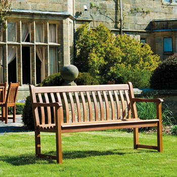 Image of Cornis Broadfield 4ft FSC Garden Bench from Alexander Rose