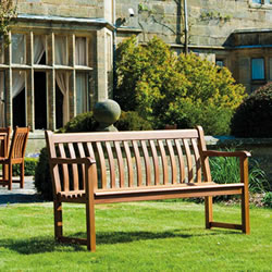 Small Image of Cornis Broadfield 4ft FSC Garden Bench from Alexander Rose