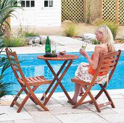 Small Image of Cornis Tea for Two Garden Furniture Set by Alexander Rose