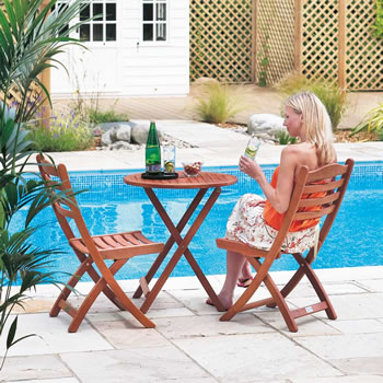 Image of Cornis Tea for Two Garden Furniture Set by Alexander Rose