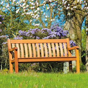 Image of Cornis St George 4ft FSC Garden Bench from Alexander Rose