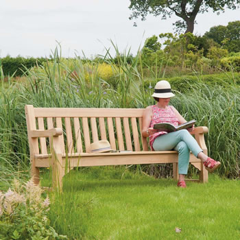 Image of Roble Royal Park 5ft FSC Bench from Alexander Rose